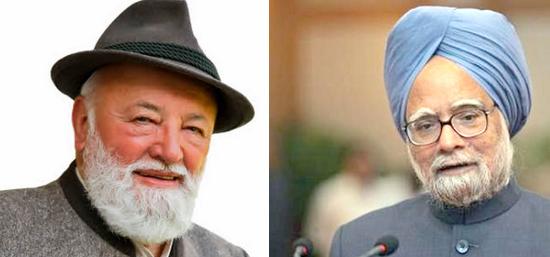 Der Österreicher Sepp Forcher vs den indischen Premier Minister Manmohan Singh