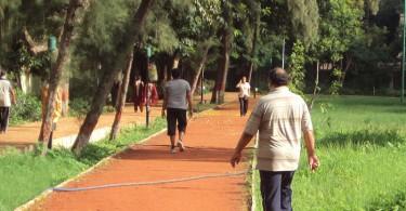 Jogging in Indian Park