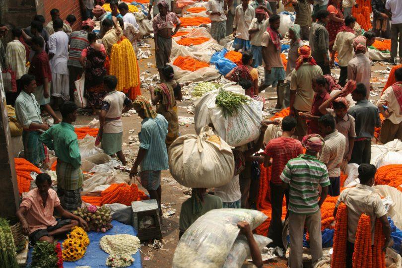 Indiens wirtschaft wächst