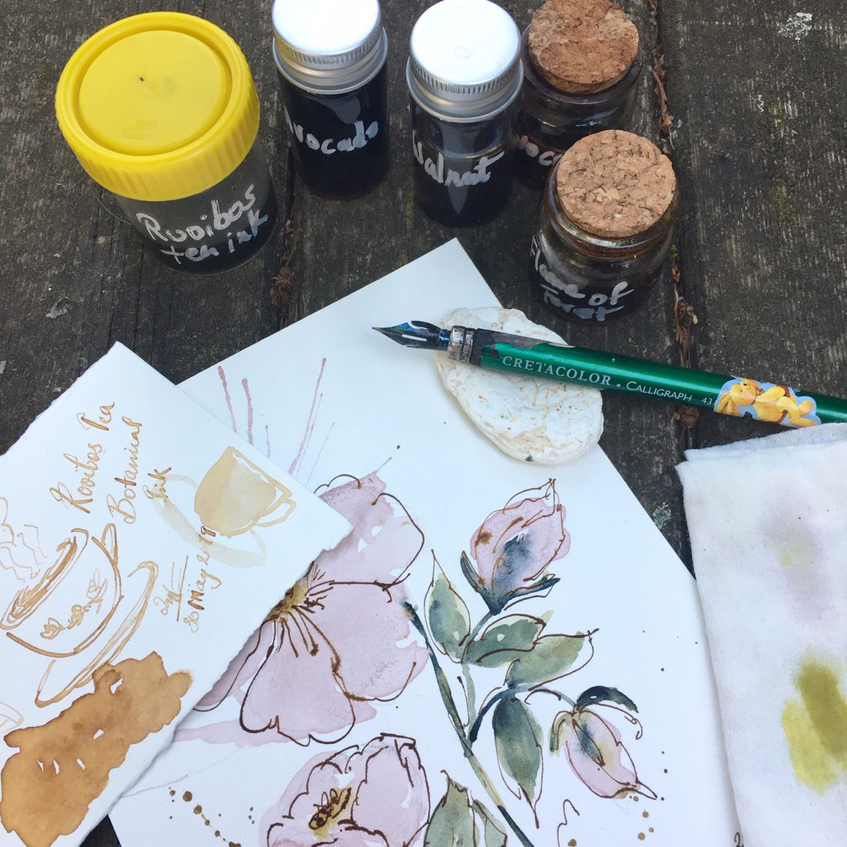 Natural Plant Inks
