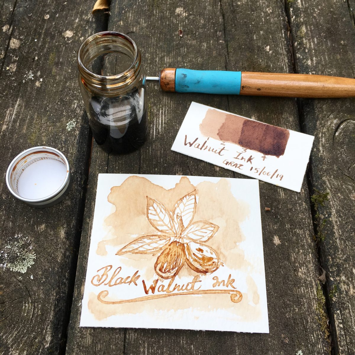 Black Walnut Ink