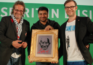 Mike Kuhlmann, Sudhir Sharma, Christoph Harrach (v.l.n.r)