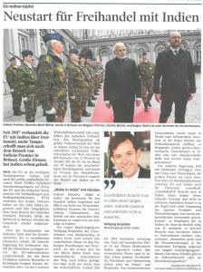 Artikel Wirtschaftsblatt