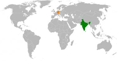 Indien Deutschland